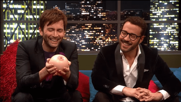 """David Tennant """"Knowing Nothing"""" About New Doctor Who – And Becoming A Dad Again"""
