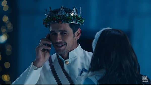 SNL: Cut James Franco Short Is A Nightmare of Holiday Cheer