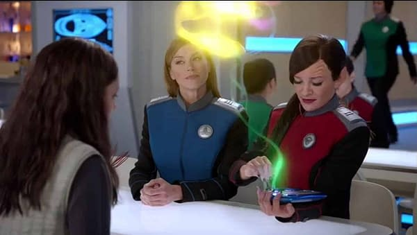 The Orville - Aily Kei, Adrienne Palicki and Jessica Szohr s02e10