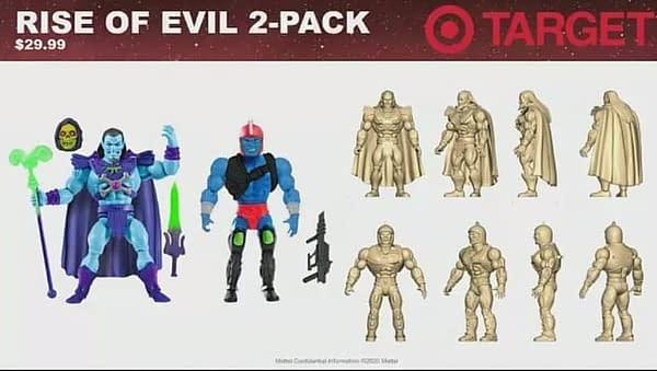 Masters of the Universe Power Con 2020 Mattel Reveals - Origins