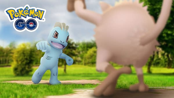 Complete August Field Research PokéStop Tasks in Pokémon GO. Credit: Niantic.