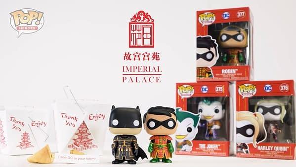 Funko Unveils DC Comics Imperial Palace Pop Vinyls