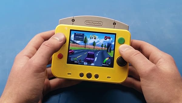 Can this truly be an N64 mod without there being weird shapes everywhere for your hands? Courtesy of GmanModz.