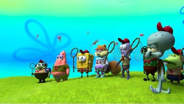Kamp Koral released a trailer for the SpongeBob Squarepants prequel series. (Image: screencap)