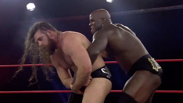 Moose battles Jake Something on Impact Wrestling