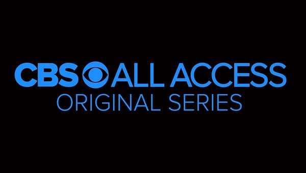 cbs all access logo Strange Angel