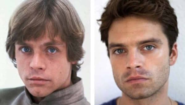 BossLogic Reimagines Sebastian Stan as Luke Skywalker
