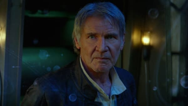 """Star Wars"": Harrison Ford Breaks Cameo Silence on ""Kimmel"""