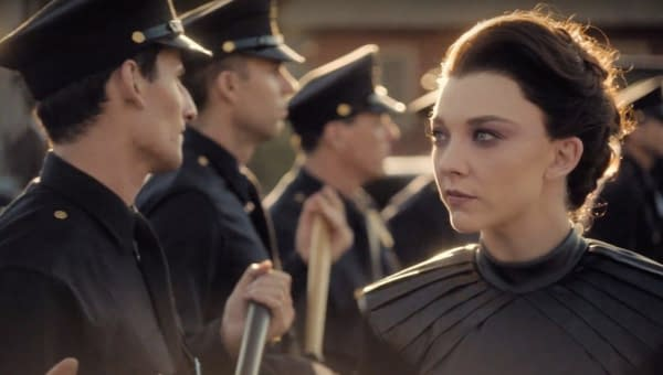 Magda senses the war that's coming in Penny Dreadful: City of Angels, courtesy of Showtime.