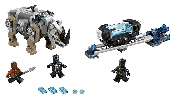Black Panther Gets Two LEGO Sets from the Film