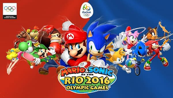 Nintendo Is Removing Mario & Sonic At The Rio 2016 Olympic Games