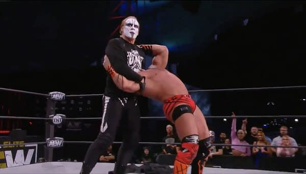 Sting gets revenge on Brian Cage on AEW Dynamite