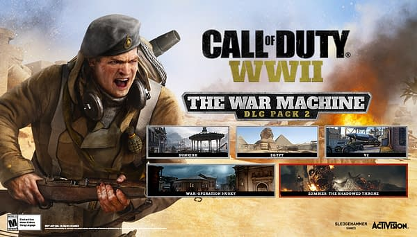 Classic Perks Return to Call of Duty: WWII with the Throwback Moshpit