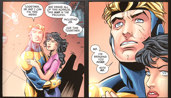 Booster Gold And The Return Of The Mystery JLI Woman…