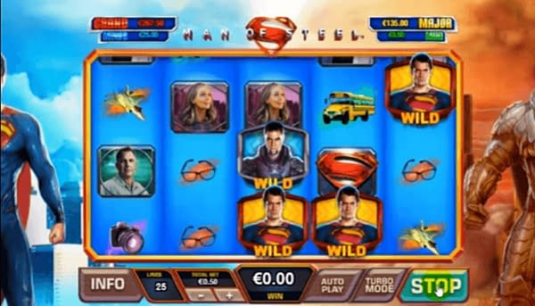 DC Comics Registers Trademarks for Gambling Machines