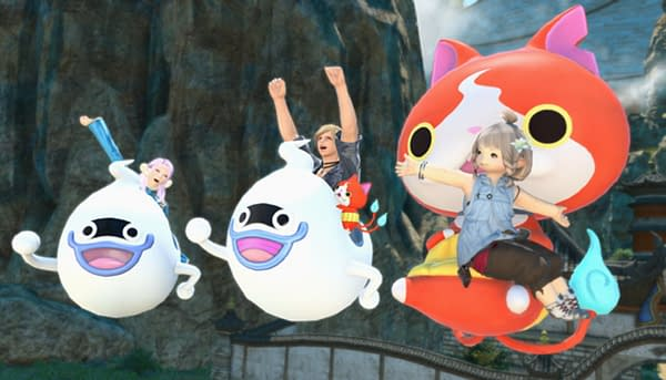 Get your Yo-Kai Watch mount in Final Fantasy XIV Online while you can, courtesy of Square Enix.
