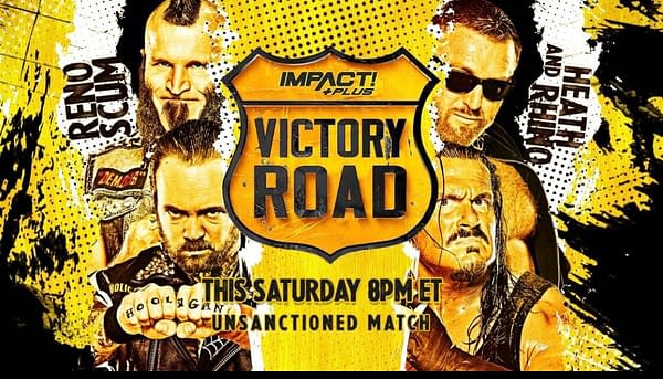 Rhino teams with Heath to take on Reno Scum at Impact Wrestling Victory Road