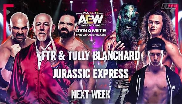 Tully Blanchard will return to the ring after more than 30 years to join FTR in facing Jurassic Express on AEW Dynamite March 3rd.