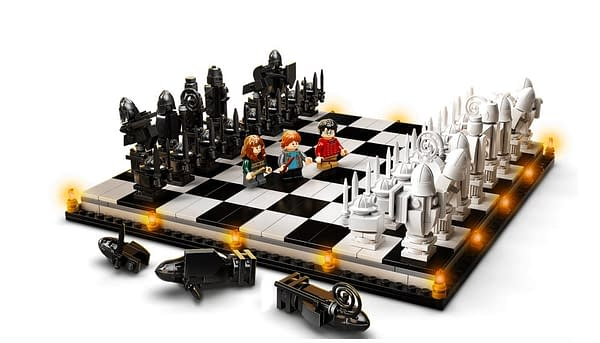 Harry Potter Wizard's Chess Comes To LEGO With New Anniversary Set