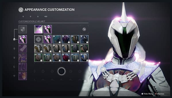 A preview of the new armor system, courtesy of Bungie.