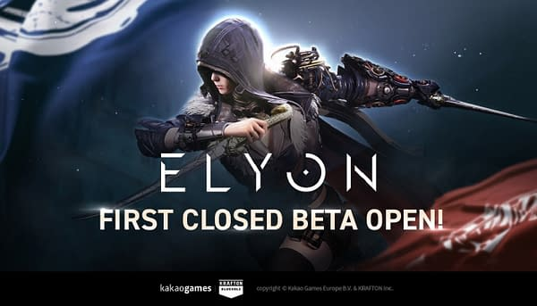 The closed beta will run in Elyon until Monday morning, courtesy of Kakao Games.