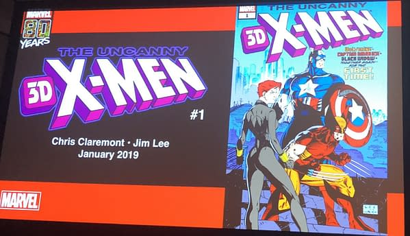 Uncanny X-Men 3D Returns to Marvel Comics in January with Chris Claremont and Jim Lee