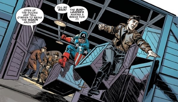 Cap Fights American Nazis in Captain America and the Invaders #1 (Preview)