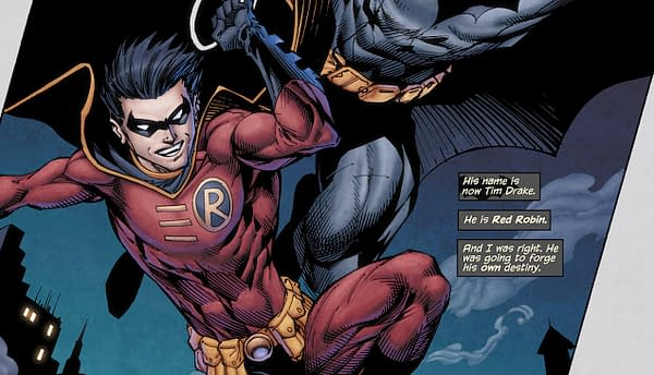 The New Codename for Red Robin in Today's Young Justice #8, Revealed (Spoilers)