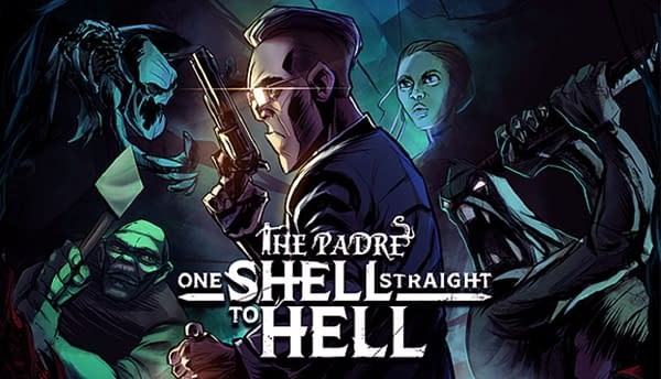 The key art for One Shell Straight To Hell, by Feardemic and Shotgun With Glitters.