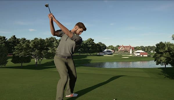 A look at the Easy Lake, courtesy of 2K Games.