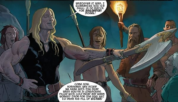 The New Valkyrie Owned Thor's Axe Jarnbjorn Before Thor