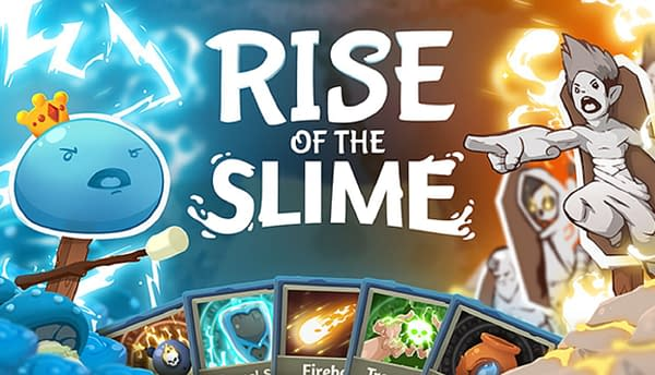 Go from being a regular slime to king slime! Courtesy of Playstack London.