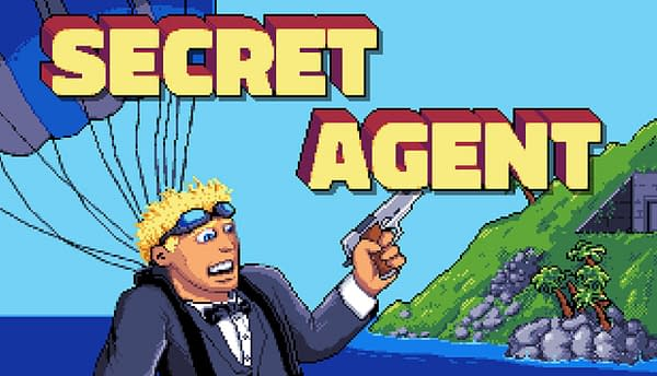 Classic '90s Game Secret Agent Receieevsd