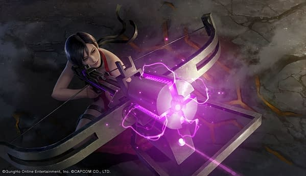 Ada Wong in all her glory, courtesy of Capcom.