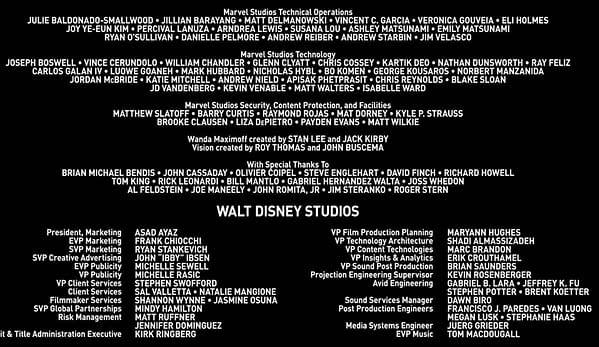 WandaVision Gets New Comics Creator Credits - But Why?