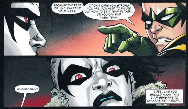 Damian Wayne Gets A Crush – But Not on Crush (Teen Titans #23 Spoilers)