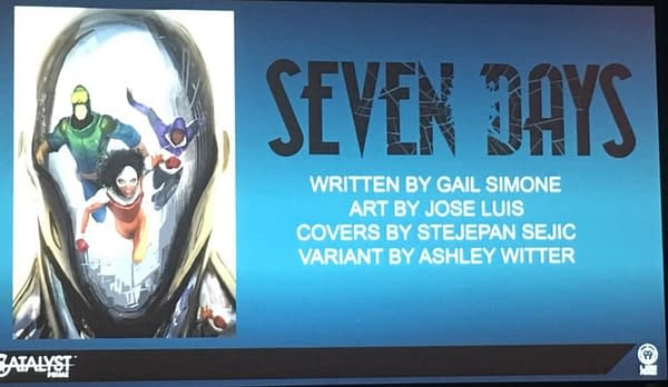 Gail Simone's Seven Days Moved to October at Diamond Retailer Summit