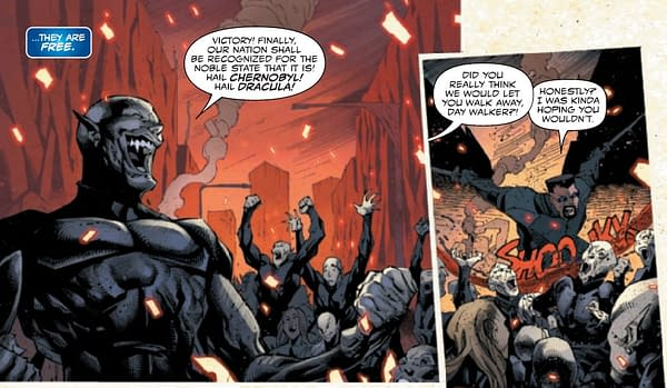 A New Nation For The Vampires of the Marvel Universe?