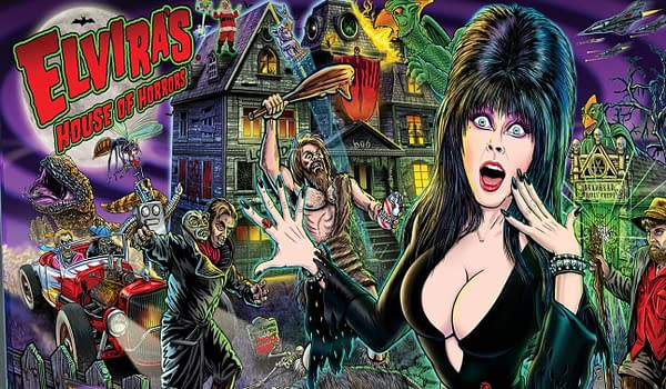 Elvira's House of Horrors from Stern is spooktacular!