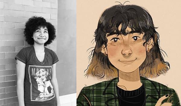 Good Mourning, Debut YA Graphic Novel by Circe Moskowitz & Caleb Hosalla
