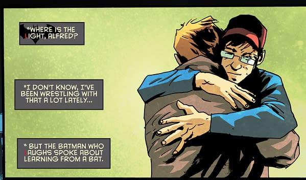 Batman Still Has His Batman Who Laughs Within Him