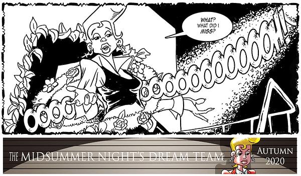 Midsummer Night's Dream Team - a Shakespeare Heist Graphic Novel