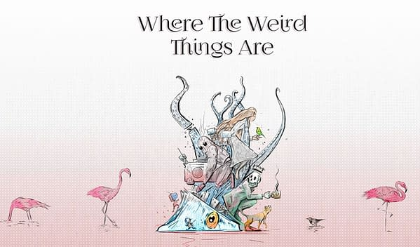 Where The Weird Things Are - 15 Years Of Process by Lewis Campbell