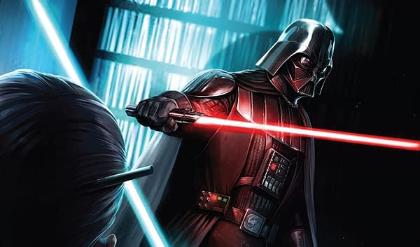 Darth Vader #9 cover by Giuseppe Camuncoli and Francesco Mattina