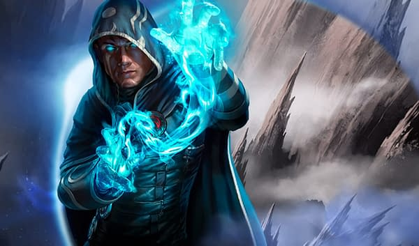 The Magic: The Gathering: Arena avatar for Jace Beleren, a Planeswalker and an illusionist.