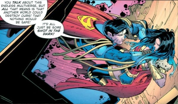 "Superman Is ""A Shot In The Dark"" - Death Metal #4"