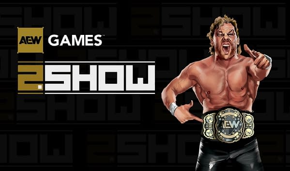 Episode three of 2.Show had a lot of promise but not much content. Courtesy of AEW Games.