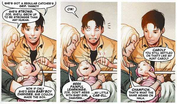So… What Does Carol Danvers' Name Mean? Hint, it's Not 'Hope'…