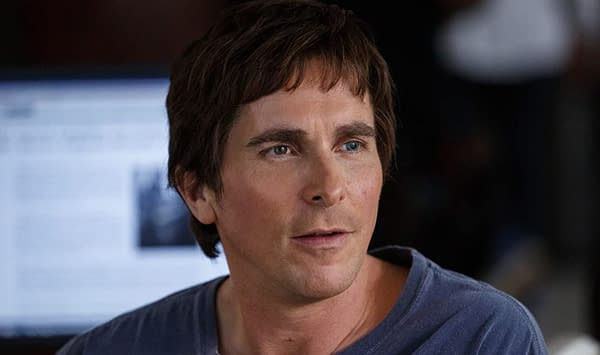 Christian Bale as Michael Burry in The Big Short, courtesy of Paramount Pictures.