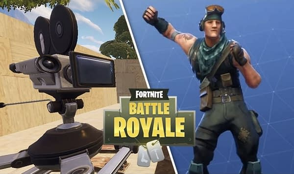 Camera Locations Leaked for Fortnite Dance Challenge